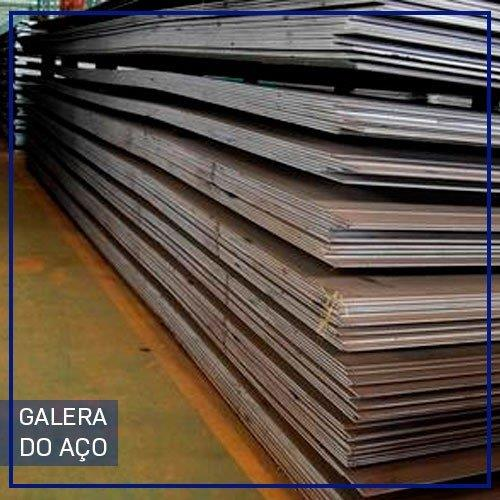 Chapas de aço em Mogi Guaçu
